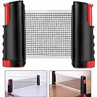 Weego Red de Tenis de Mesa, Repuesto Portátil Retráctil Table Tennis Net - Ping Pong Net para Entrenamiento, Longitud…