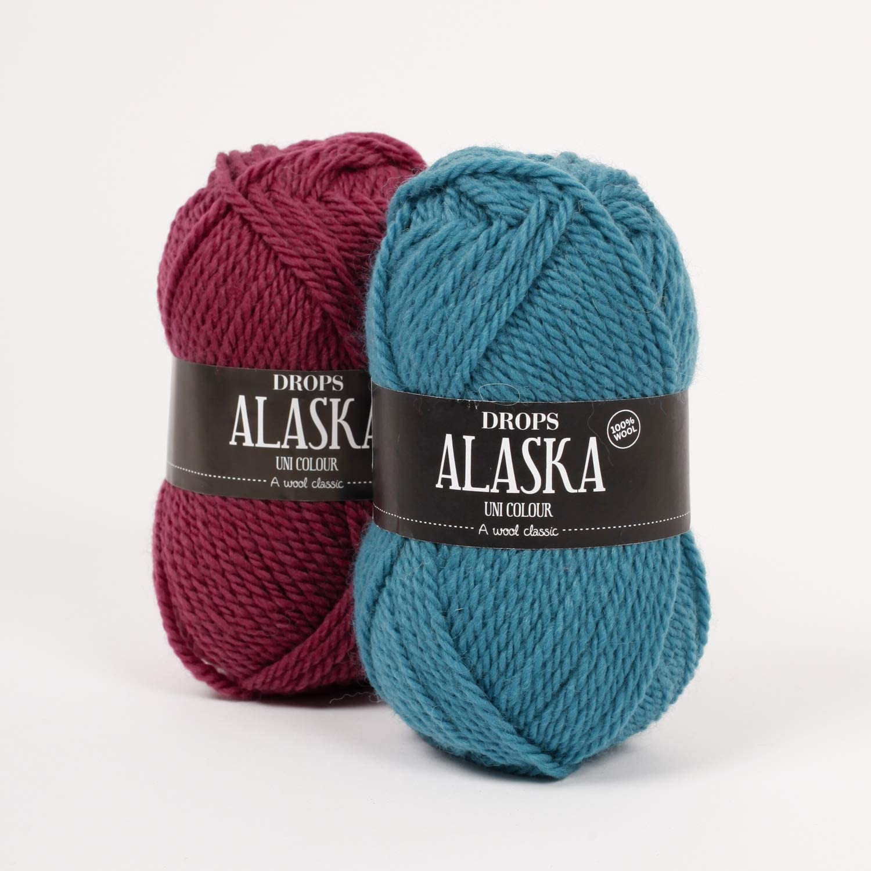 Ovillo de lana 100% estampadas, Alaska, 4 – Mediano, Aran, 1.8 oz ...