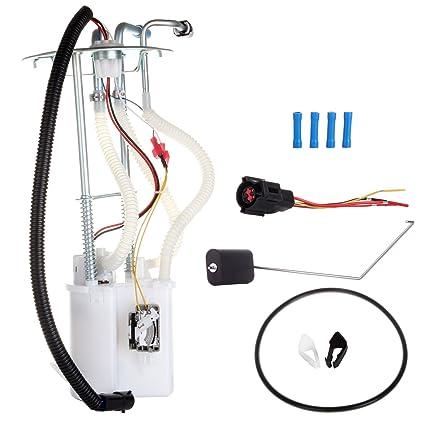 amazon com eccpp electric fuel pump module assembly w sending unit eccpp electric fuel pump module assembly w sending unit replacement for ford e 150