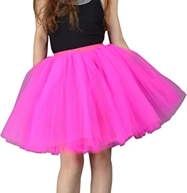 Layer Women Adult Tutu Tulle Skirt Petticoat Princess Ballet Skirts Dance Party