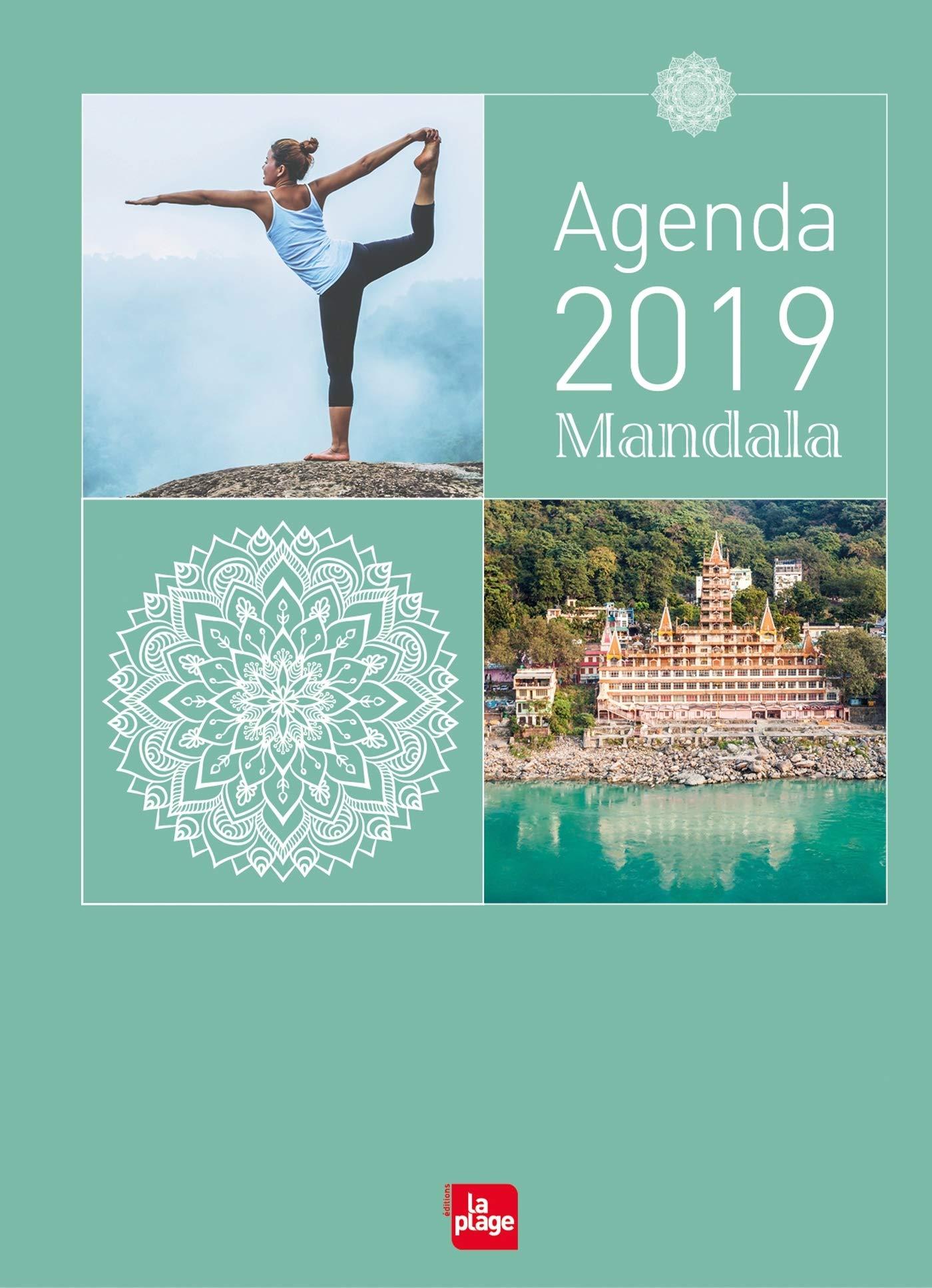 Agenda mandala 2019 petit format: Amazon.es: La Plage La ...