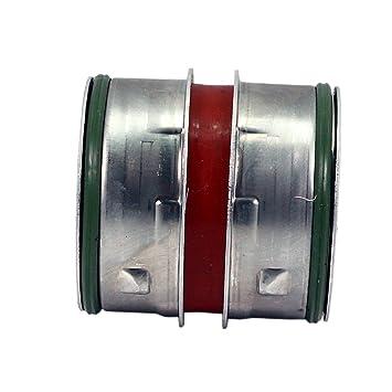 Turbo Intercooler - Manguera de entrada de aire para tubo superior (diámetro aproximado) TK Car Parts - Piezas para coche 49/49 mm 1J0145834T: Amazon.es: ...