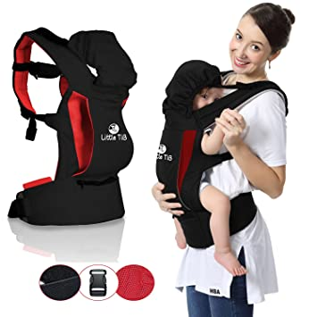 4de1759821c Amazon.com   Little TiB Ergonomic Baby Carrier