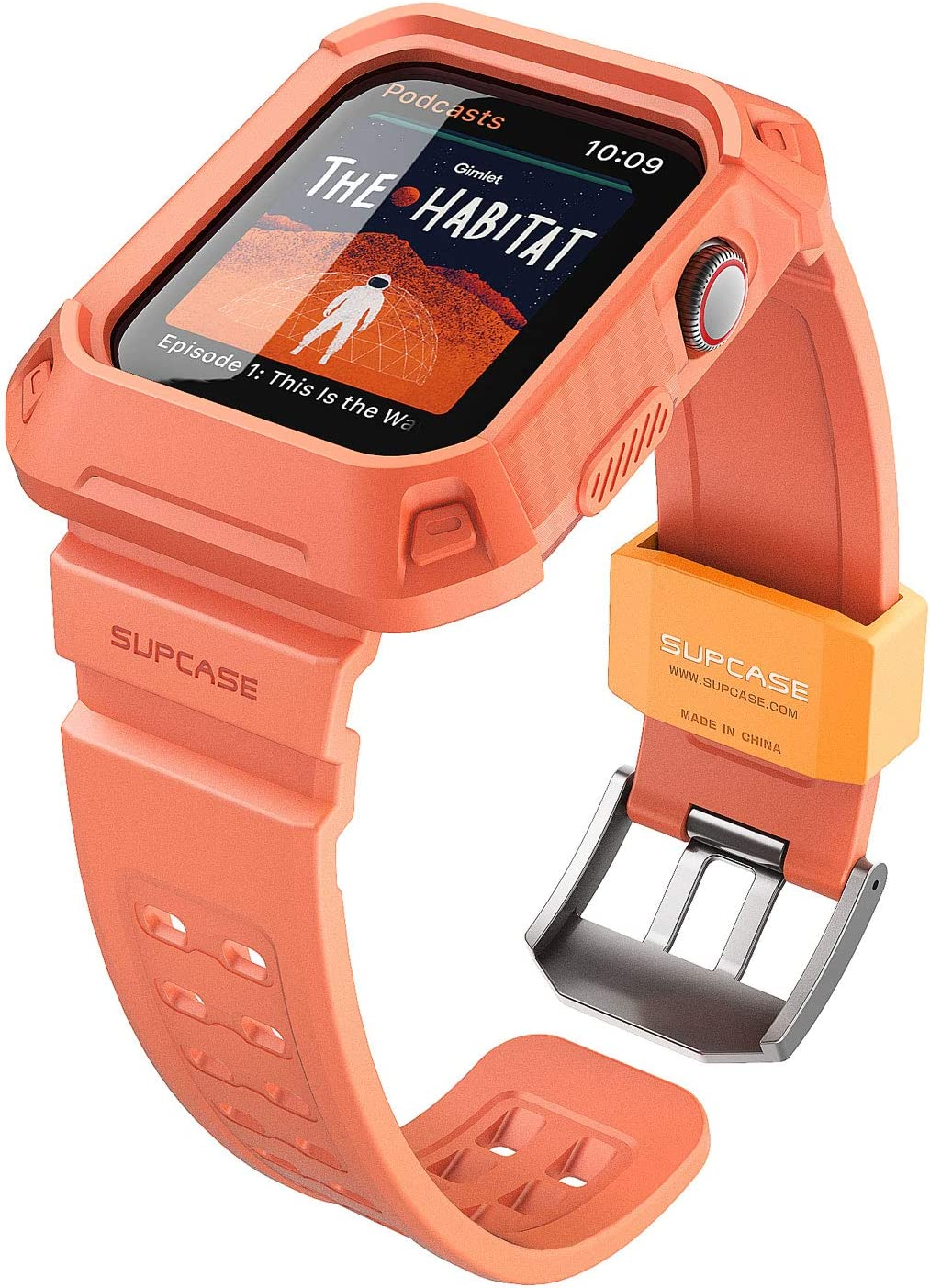 SUPCASE [Unicorn Beetle Pro] Designed for Apple Watch Series 6/SE/5/4 [44mm], Rugged Protective Case with Strap Bands(Melba)