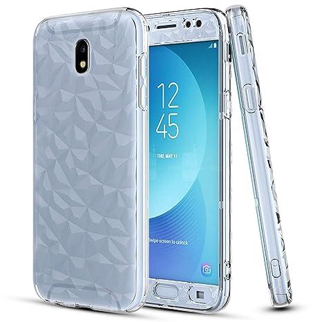 LeYi Funda Samsung Galaxy J5 2017 Silicona Transparente ...
