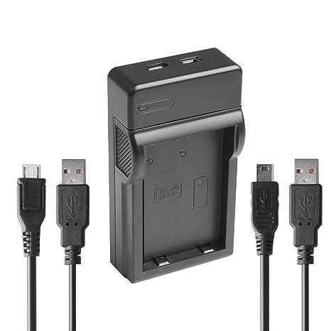 USB- Cargador para Nikon EN-EL9 a/EN-EL9/EN-EL9e/MH-23/mh23 ...