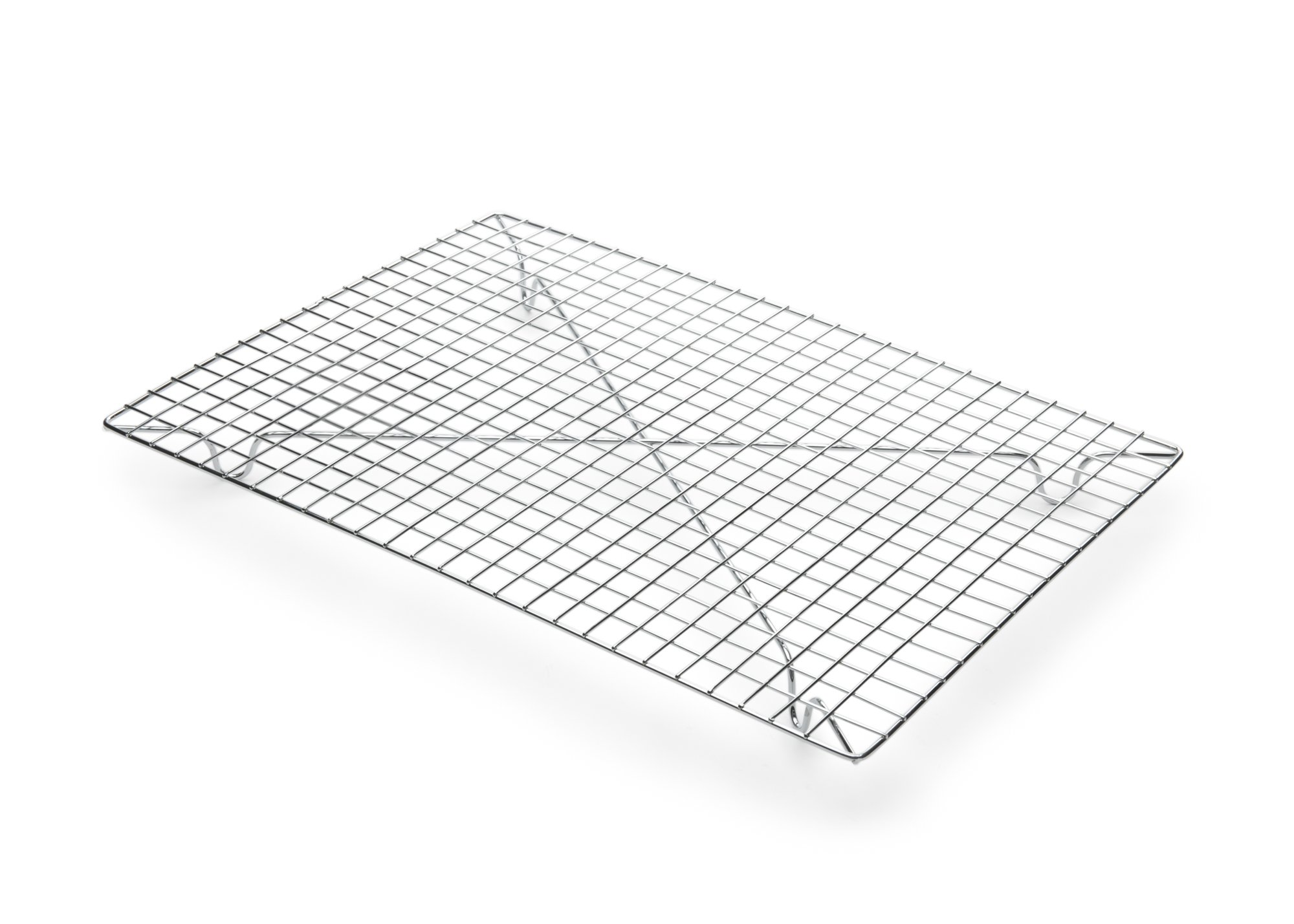 Fox Run 4694 Rectangular Cooling Rack, Iron/Chrome, 10-Inch x 14-Inch
