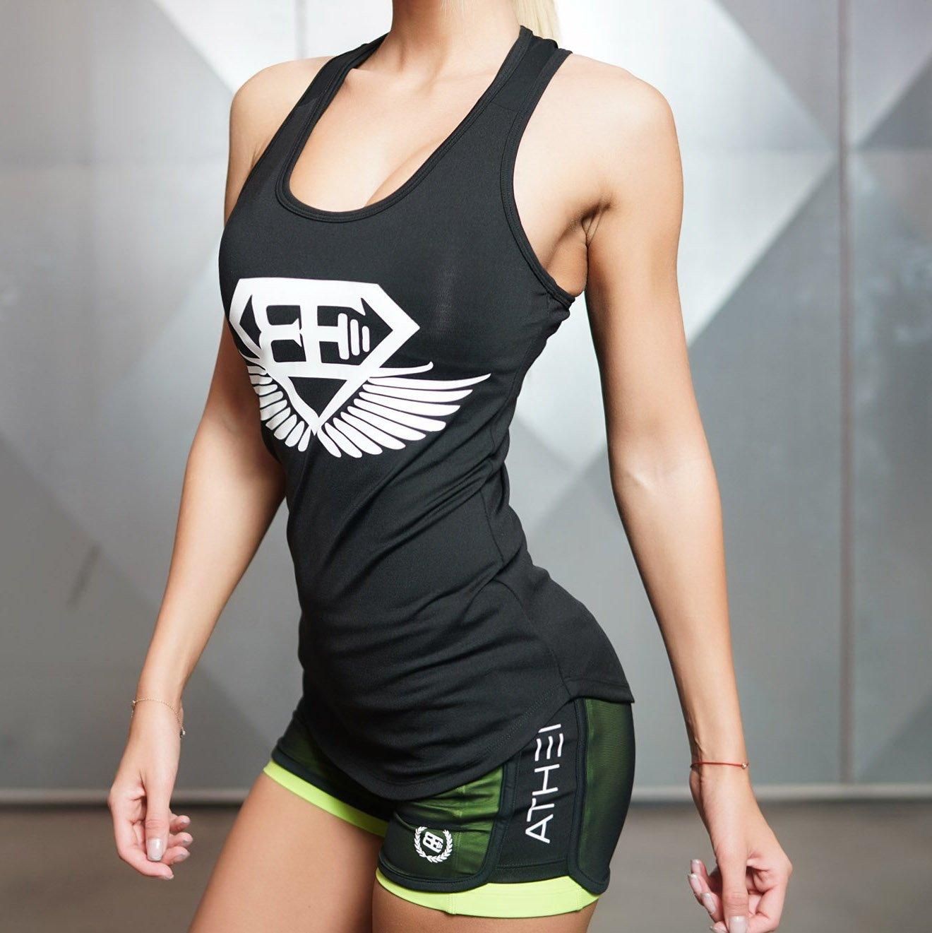 Body Engineers Athena X-Tank Top Frauen Fitness Black