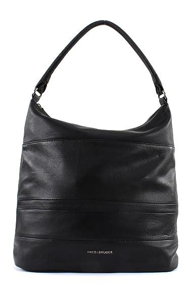 Black Schuhe amp; Twist Fredsbruder Handtaschen Nappa pqx0qnP