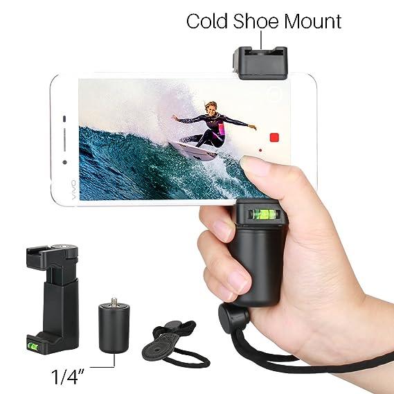 2bd8f5ef475b39 Ulanzi Smartphone Filmmaker Grip - Professional Video Rig Adjustable Phone  Tripod Stand, Vlogging Accessories Videomaker