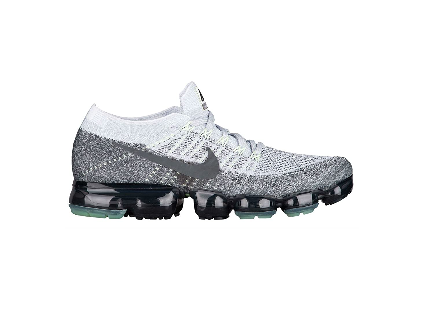 low priced 34db8 70842 switzerland amazon nike air vapormax grey neon 922915 002 us size 8 in  broken shoes box