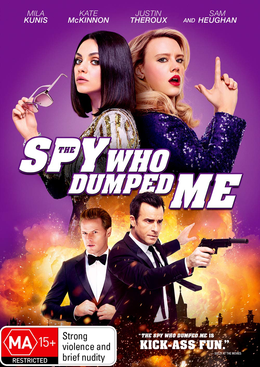 The Spy Who Dumped Me (2018) ORG Hindi Dual Audio 480p BluRay ESubs 400MB