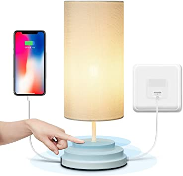 Dimmable Touch Bedside Lamp