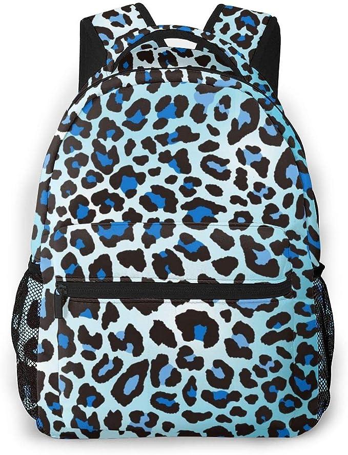 Casual School Backpack Tiger Couple Art Painting Print Laptop Rucksack Multi-Functional Daypack Book Satchel