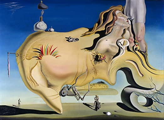 Salvador Dali The Great Masturbator Giclee Canvas Print Paintings Poster Reprodu