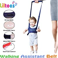 Liltoes Baby Safety Harness Walking Assistant Belt, Blue