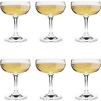 Argon Tableware Copas de champán Tipo Pompadour
