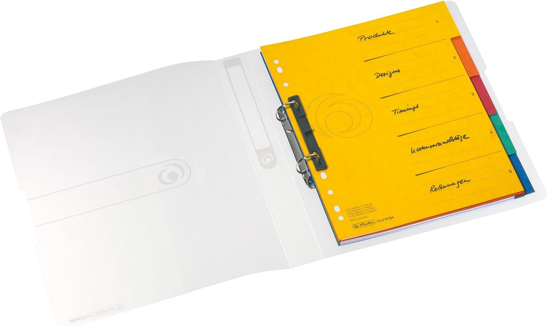 herlitz Ringbuch easy orga to go wei/ß tranps. A4 2-Ring