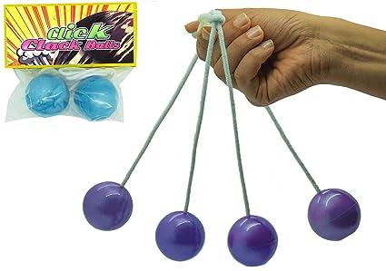 Clackers Klackers Clacker Balls Ker Bangers Retro Toy