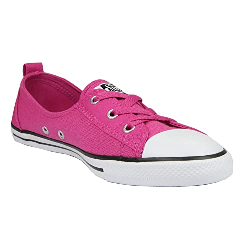 332177732db18 Converse Chucks Ballerina 551654 C Pink Dainty All Star Ballet Lace Black PINK  PLASTIC WHITE pink