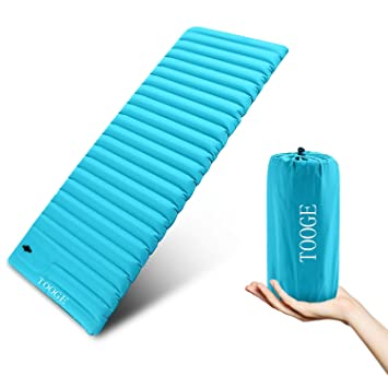 TOOGE Colchón Hinchable para Dormir, 9 cm, Ultra Grueso, Super Ancho, Impermeable, XL: Amazon.es: Deportes y aire libre