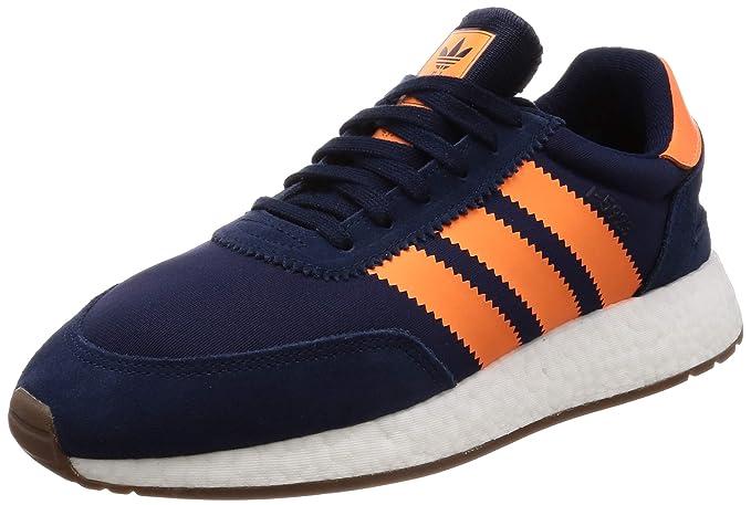 Sneaker adidas Originals I 5923 in mesh e suede e arancione