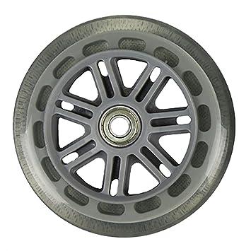 JD Bug Junior Scooter Wheels inc Bearings - Clear 120mm ...