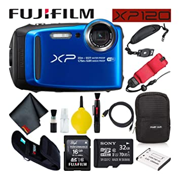 Amazon.com: Fujifilm FinePix XP120 - Cámara digital ...