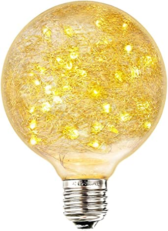 Led Edison Vintage Bombilla, Elfeland® E27 50 LED Bombilla ...