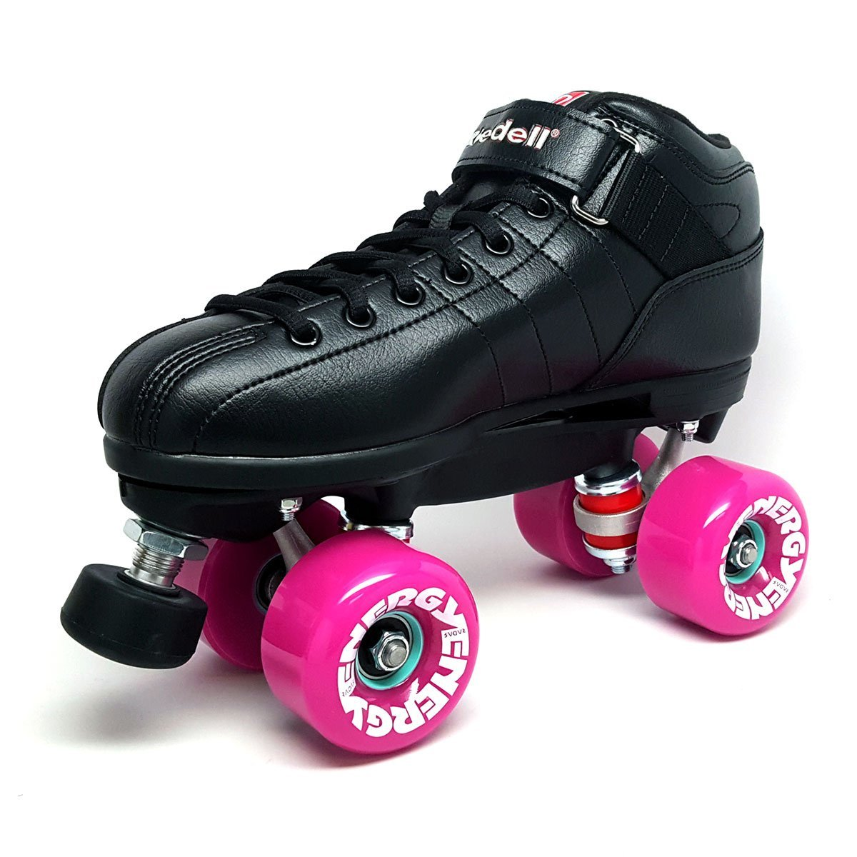 Riedell R3 Energy Purple Outdoor Quad Roller Derby Speed Skates by Riedell