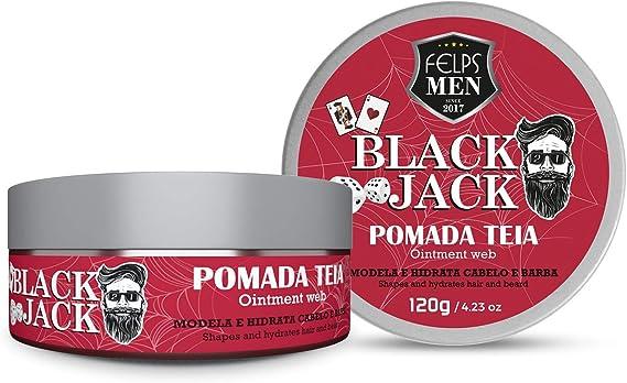 Felps Men Black Jack Pomada Teia 120G, Felps, 120G por Felps Professionnel