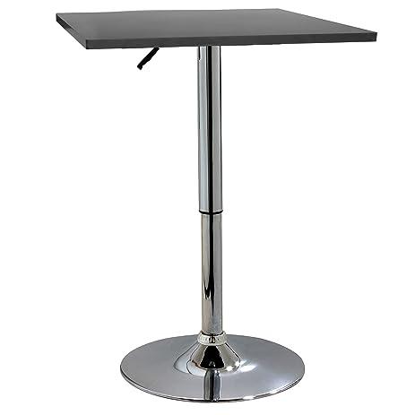 AmeriHome BTABLEWSQ Classic Wood Top Bistro Square Table