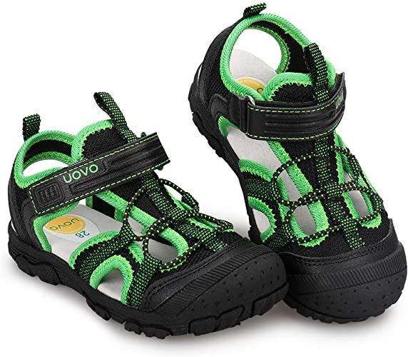 Amazon.com | UOVO Boys Sandals Kids Summer Sandals Toddler Little Boys  Closed Toe Athletic Hiking Outdoor Sport Sandals Size 6.5 Toddler to 3.5 |  Sandals