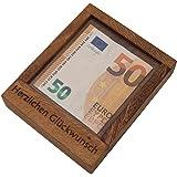 ROMBOL Pfiffiger Geldschein-Tresor - Originelle Verpackung für Geldgeschenke in Form Eines Geduldsspiels, Modell:1