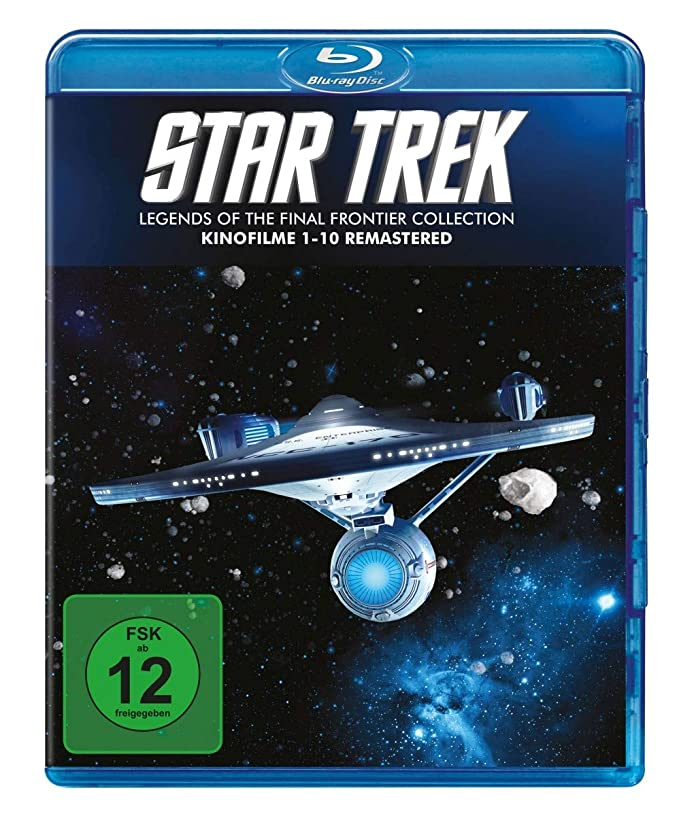 Star Trek 1-10 [Alemania] [Blu-ray]