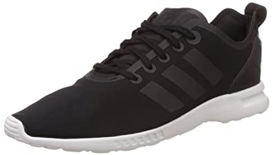 adidas Originals Damen Zx Flux Smooth Sneakers, Schwarz