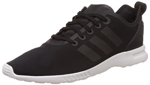 adidas Originals ZX Flux Smooth, Scarpe da Ginnastica Donna, Nero (Schwarz Black/