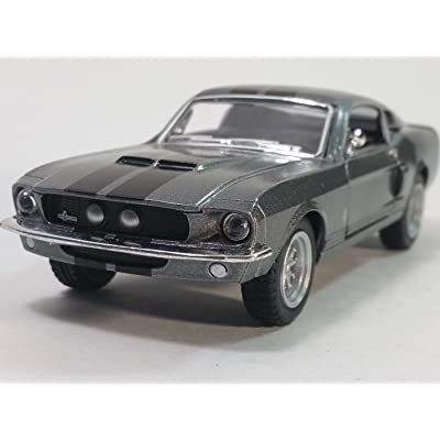 Kinsmart Gone in 60 Seconds 2K Elanor 1967 Ford Shelby GT-500 1/38 O Scale Diecast Car: Toys & Games