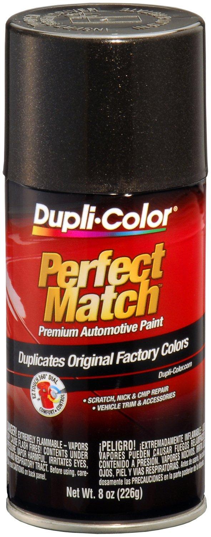 Dupli-Color (EBUN00907-6 PK Universal Black Metallic Perfect Match Automotive Paint - 8 oz. Aerosol, (Case of 6)
