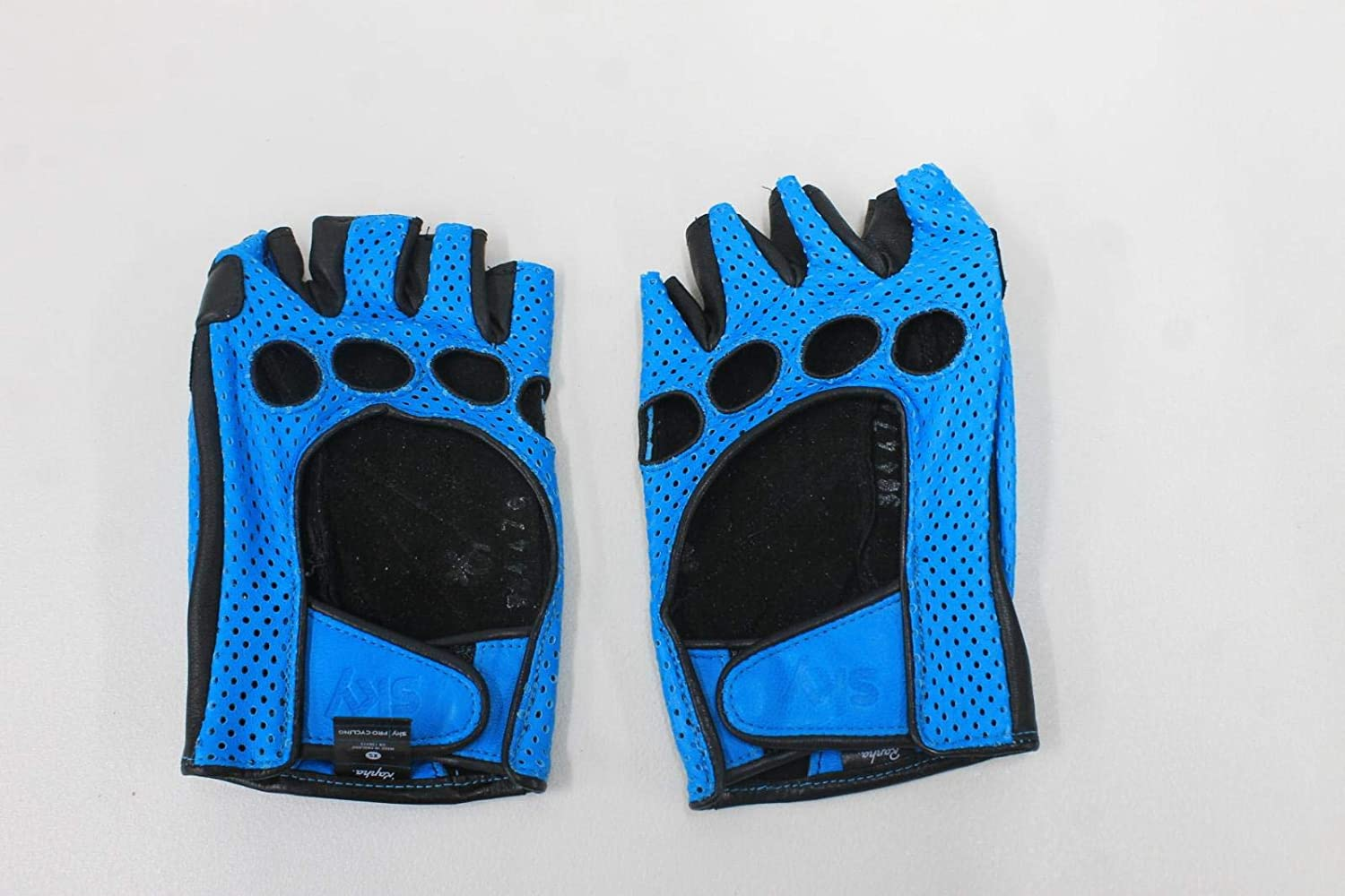 Rapha Ladies Sky Grand Tour Blue Sheep Leather Cycling Gloves Size XS w Box NEW