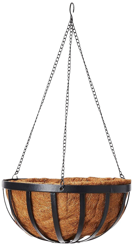 Arcadia Solstice Round Hanging Basket Planter, 14-Inch