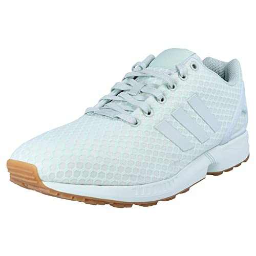 adidas Originals ZX Flux Unisexo Zapatillas Menta, Tamaño:47 1/3: Amazon.es: Zapatos y complementos