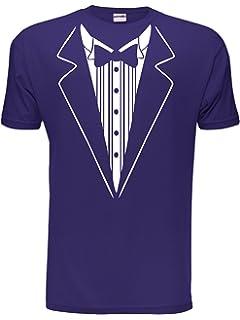 5a720a4a56f551 Tuxedo Fancy Dress Funny Novelty Joke Bow Tie Mens T-Shirt Size S-XXL