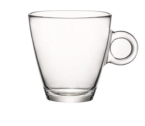 Tazas de té de vidrio templado grande 32 cl (11 ¼ oz)