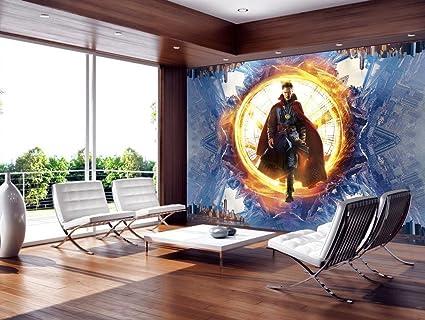 Amazoncom Doctor Strange Marvel Photo Wallpaper Woven Self