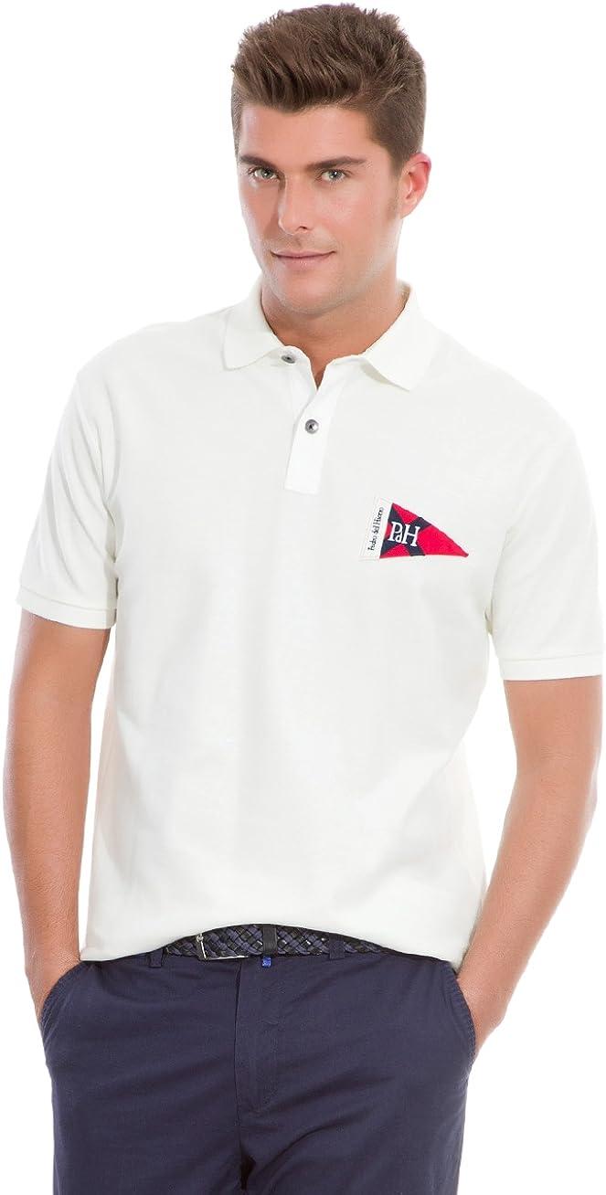 Pedro del Hierro Polo Big Logo Marinero Crudo XL: Amazon.es: Ropa y accesorios
