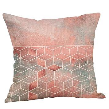 Serliy Geometrisch Gedruckt Baumwolle Leinen Kissenbezüge