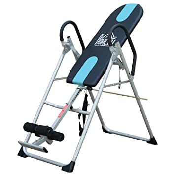 Home Back Therapy Exercise Fitness Align Bench Folding Gravity Inversion Table