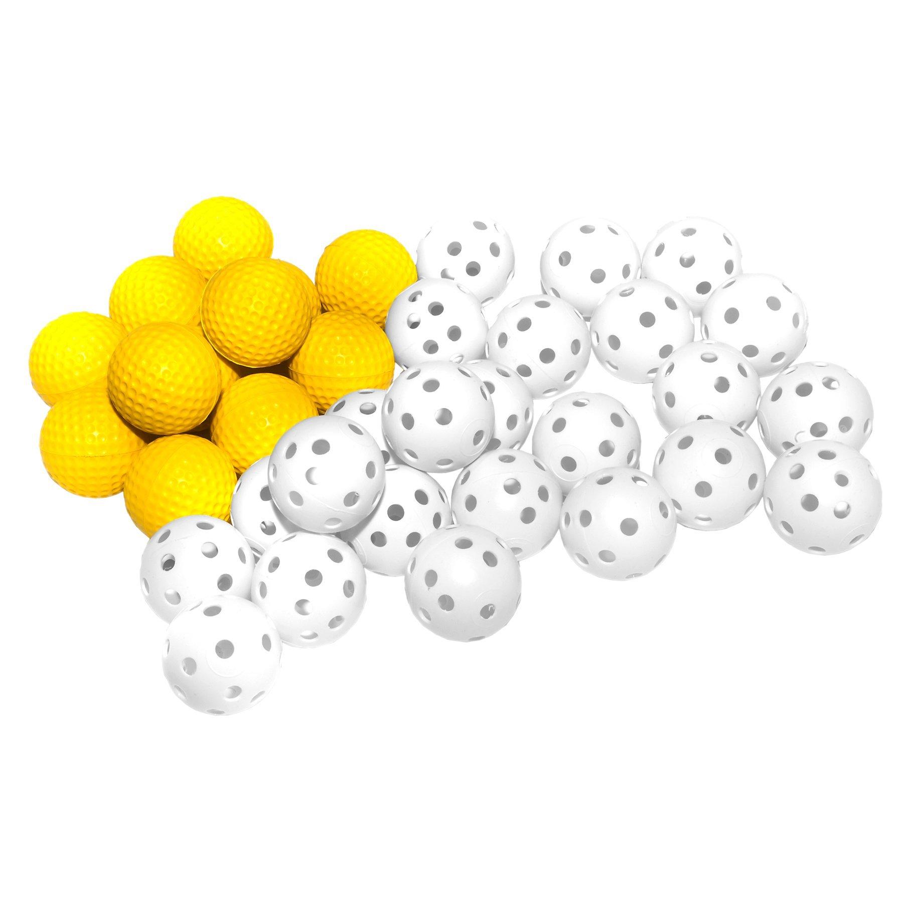 Practice Ball Combo Pack Golf Ball Size Multi Sport