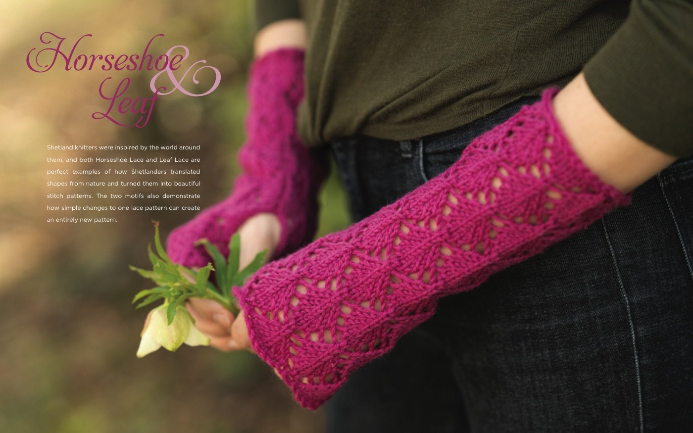 Simply Shetland Lace 6 Knitted Stitches 20 Beautiful Projects